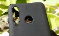 Pouzdro Jelly Case na Huawei Nova 4 - Matt - černé
