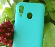Pouzdro Jelly Case na sSamsung A40 - Matt - barvy máty