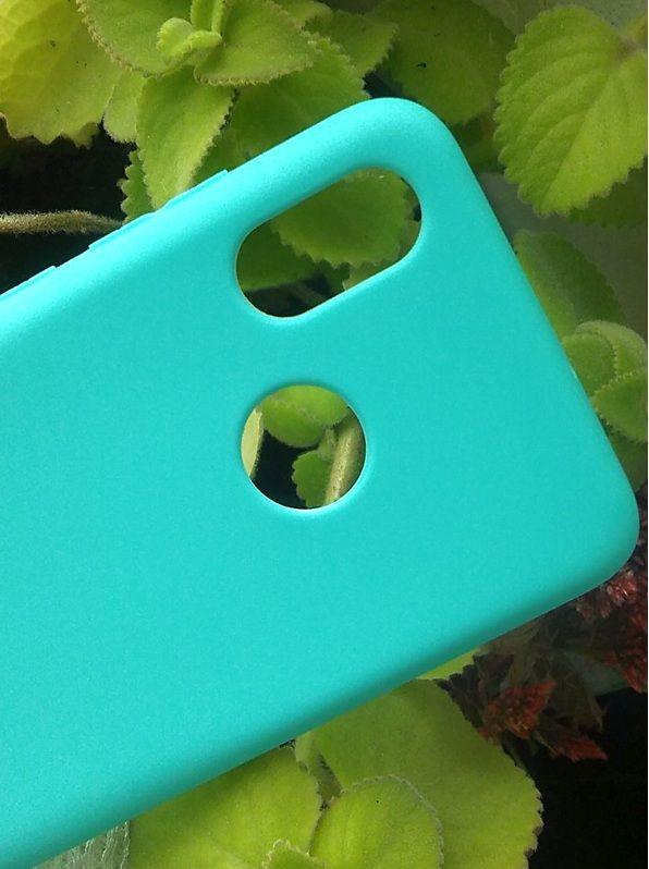 Pouzdro Jelly Case na Xiaomi Mi 8 - Matt - barva máty