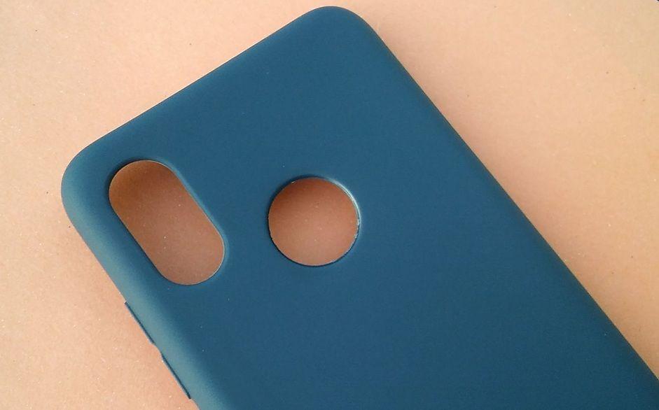 Pouzdro Jelly Case na Xiaomi Mi 8 - Matt - granátové