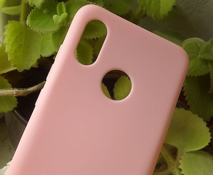 Pouzdro Jelly Case na Xiaomi Mi 8 - Matt - růžové