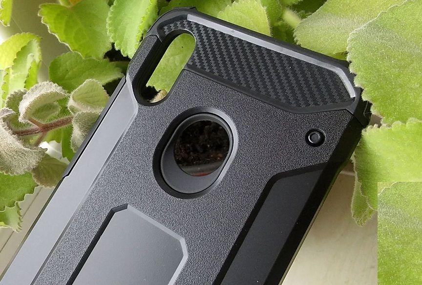 Pouzdro Jelly Case na Xiaomi Redmi Note 7 - Armor - černé