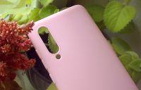 Pouzdro Jelly Case Xiaomi Mi 9 - Matt - růžové