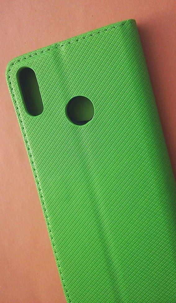 Pouzdro Sligo Smart na Huawei Y7 2019 Power Magnet zelené Sligo Case