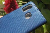 Pouzdro Sligo Smart pro Samsung A30 Magnet granátové