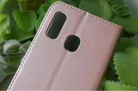 Pouzdro Sligo Smart pro Samsung A40 A405 Magnet růžové