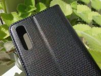 Pouzdro Sligo Smart pro Samsung A50 A505 Magnet černé
