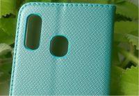 Pouzdro Sligo Smart pro Huawei Mate 20 lite - Magnet - tyrkysové