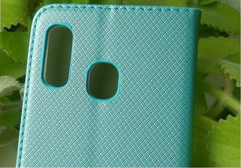 Pouzdro Sligo Smart pro Huawei Mate 20 lite - Magnet - tyrkysové Sligo Case