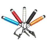 Kapacitní stylus - dotykové pero - krátké - fialové NoName