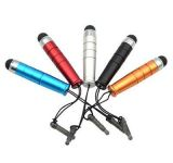 Kapacitní stylus - dotykové pero - krátké - zelené NoName