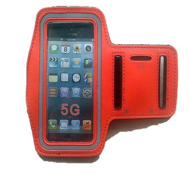 """Pouzdro Arm Band - 4,0"""" - sportovní - červené Global technology"""