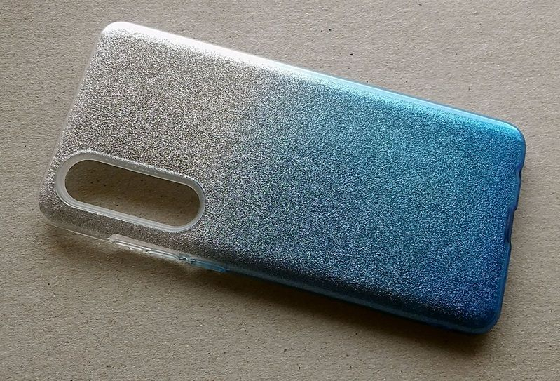 Pouzdro Blink Case pro Huawei P30 - Ombre - modré