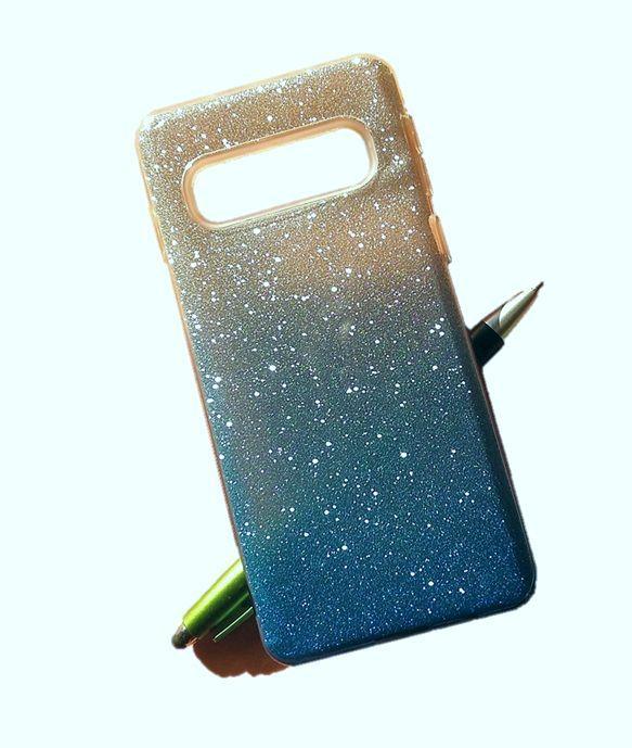 Pouzdro Blink Case pro Samsung S10 - Ombre - modré