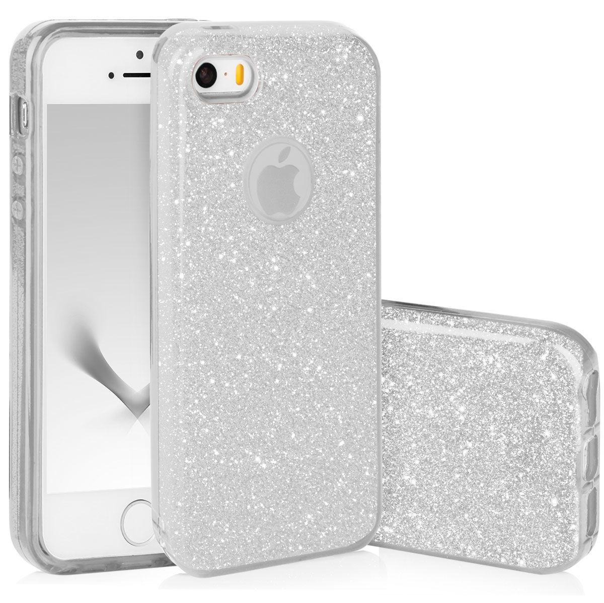 Pouzdro Blink Case pro Samsung S6 G925 Edge - stříbrné