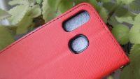 Pouzdro Fancy Case na Samsung A40 - červené