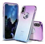 Pouzdro Glitter Jelly Case na Samsung A8 A530 2018 - fialovo-modré