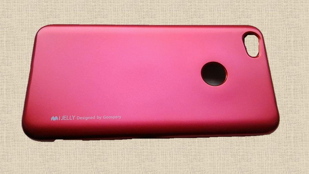Pouzdro Goospery Mercury iJelly na Xiaome Redmi Note 5A - červené