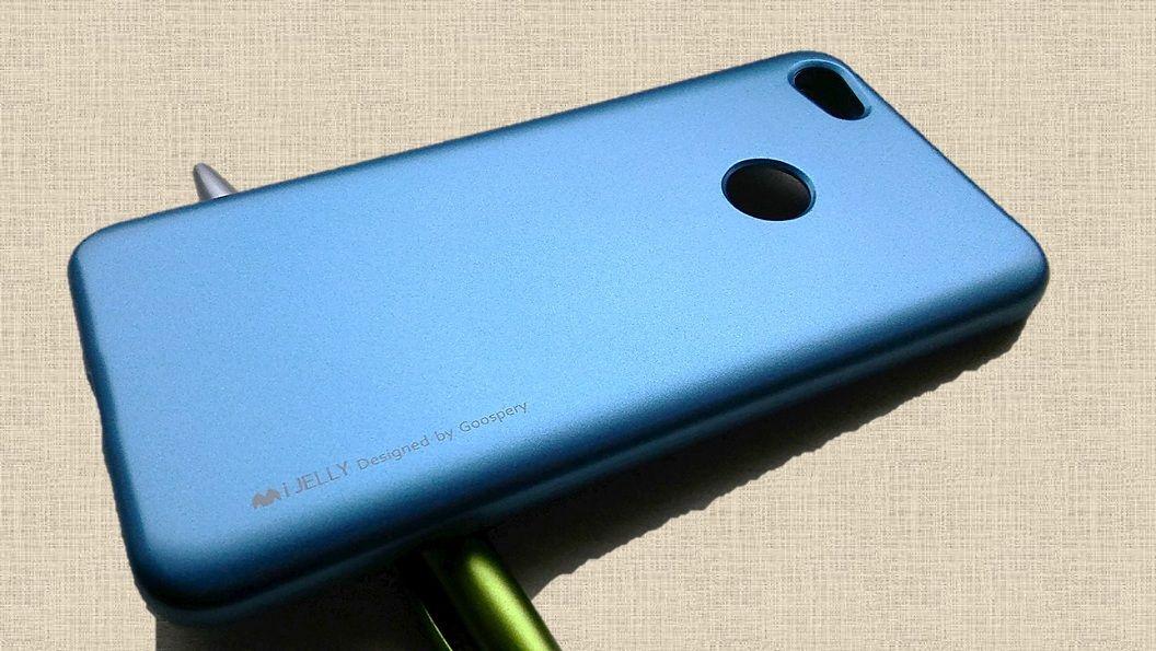 Pouzdro Goospery Mercury iJelly na Xiaome Redmi Note 5A - modré