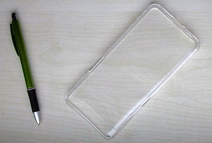 Pouzdro Goospery Mercury Jelly na Samsung A80 A805 - čiré