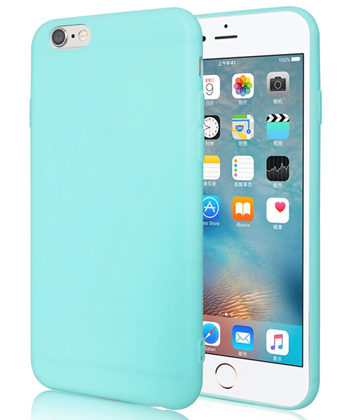 Pouzdro Jelly Case na iPhone XR - Matt - mátové