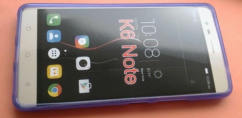 Pouzdro Jelly Case na Lenovo K6 Note - Matt - fialové
