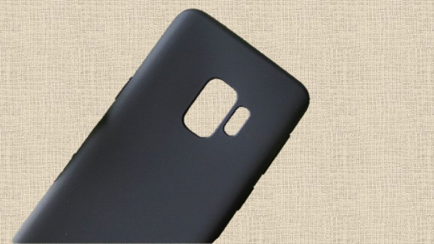 Pouzdro Jelly Case na Samsung S9 G960 - Matt - černé