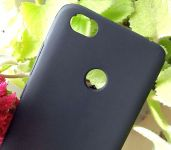 Pouzdro Jelly Case na Xiaomi Redmi Note 5A - Matt - černé