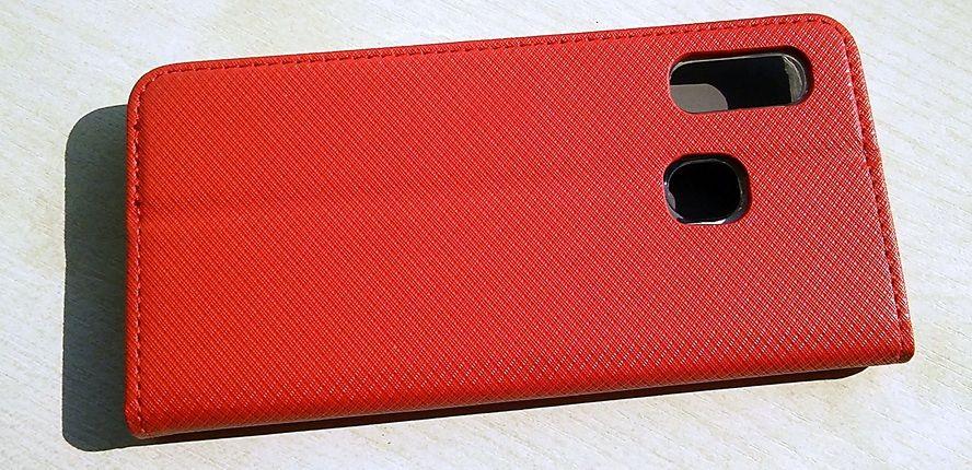 Pouzdro Sligo Smart na Samsung A20e - Power Magnet - červené Sligo Case