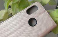Pouzdro Sligo Smart na Xiaomi Redmi Mi A2 Lite - Power Magnet - zlaté Sligo Case