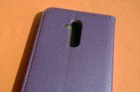 Pouzdro Sligo Smart pro Huawei Mate 20 lite - Magnet - fialové