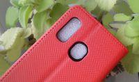Pouzdro Sligo Smart pro Samsung A40 A405 Magnet - červené