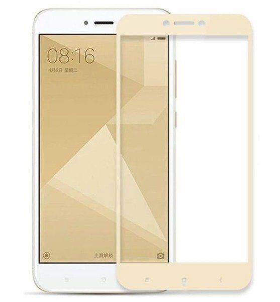 3D Sklo Premium Tempered Glass pro Xiaomi Redmi 5A - 1000000139037 - zlaté