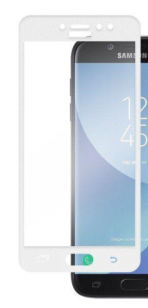 3D Sklo pro Samsung J3 J330 2017 - bílé - 1000000169928 3D Premium Tempered Glass