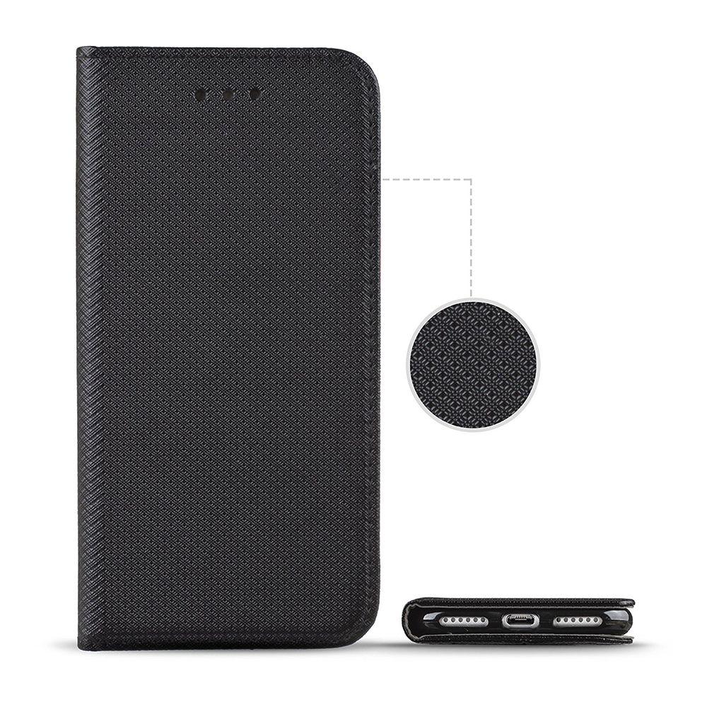 Pouzdro Sligo Smart na Huawei Y5 2019 - Power Magnet - černé Sligo Case