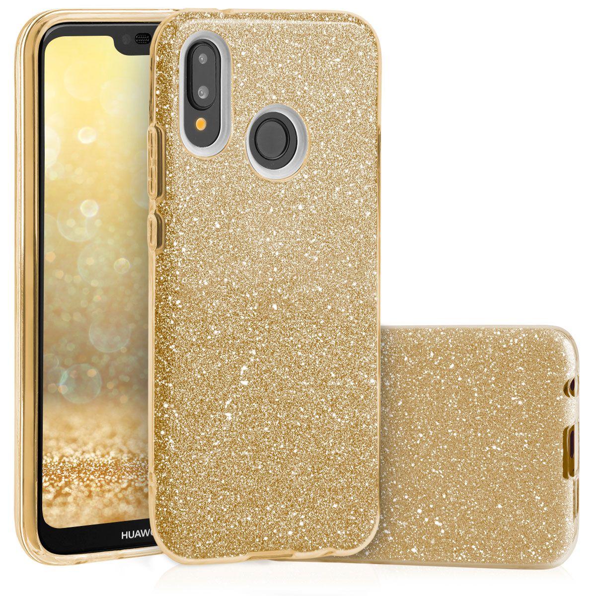 Pouzdro Blink Case pro Huawei Y7 2019 - zlaté
