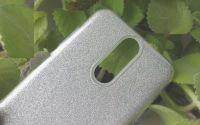 Pouzdro Blink Case pro LG Q7 - stříbrné