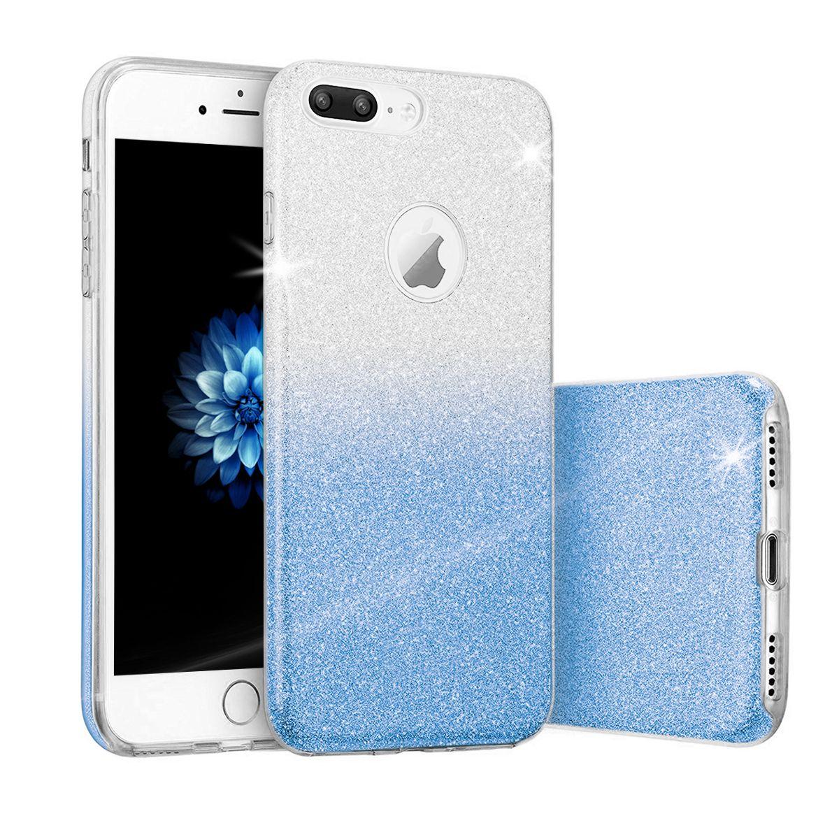 Pouzdro Blink Case pro LG Q7 Ombre - modré