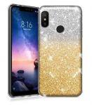 Blink Case pro Samsung Galaxy A70 - ombre - zlaté