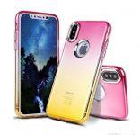 Glitter Jelly Case Samsung Galaxy A5 2018 (A8 2018) - růžovo zlaté