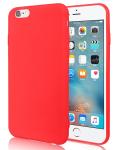 Jelly Case na LG K10 2018 - Matt - červené