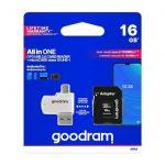 Paměťová karta Goodram 16 GB + čtečka + adaptér