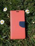 Pouzdro Fancy Case na LG K40 - červené