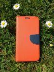 Pouzdro Fancy Case na LG Q7 - červené