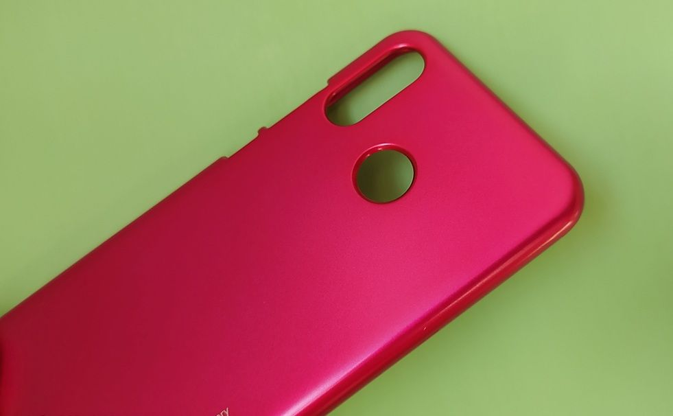 Pouzdro Goospery Mercury Jelly na Huawei P20 Lite - hot pink