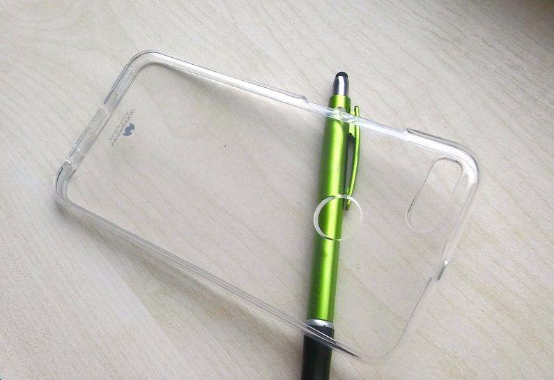 Pouzdro Goospery Mercury Xiaomi Mi A1 / Mi 5X - čiré