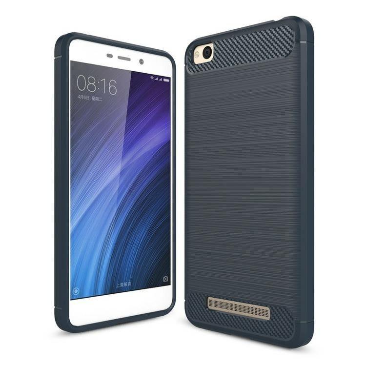 Pouzdro Jelly Case na LG Q6 - Carbon - tmavě modré