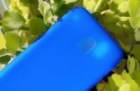 Pouzdro Jelly Case na Samsung J3 J330 2017 - Matt - modré