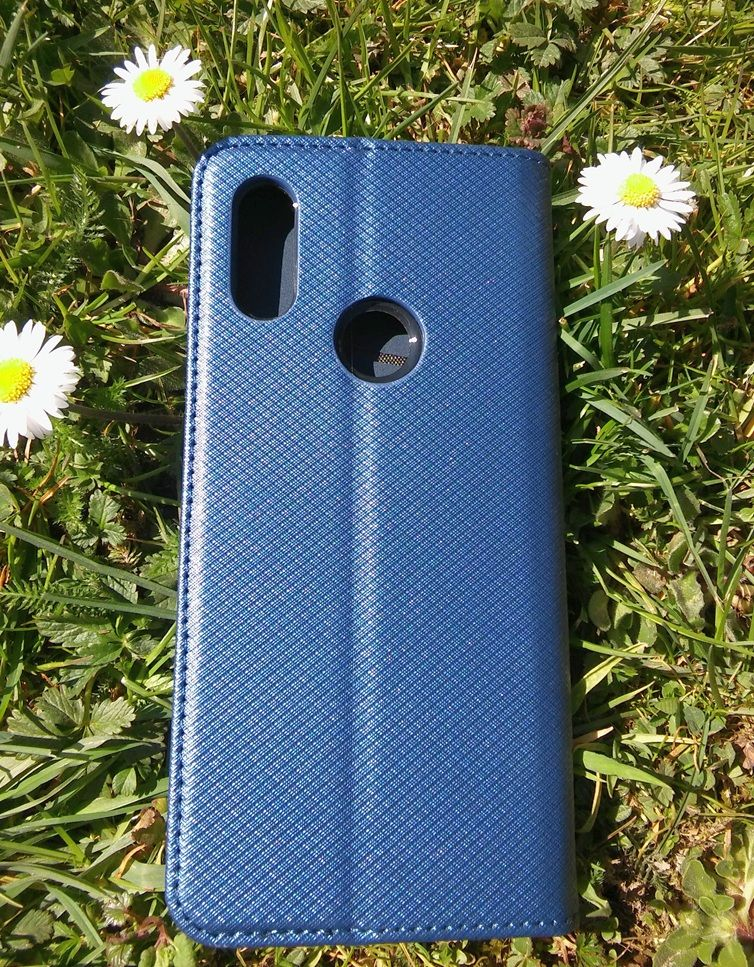 Pouzdro Sligo Smart pro Xiaomi Redmi 7 - Magnet - granátové Sligo Case