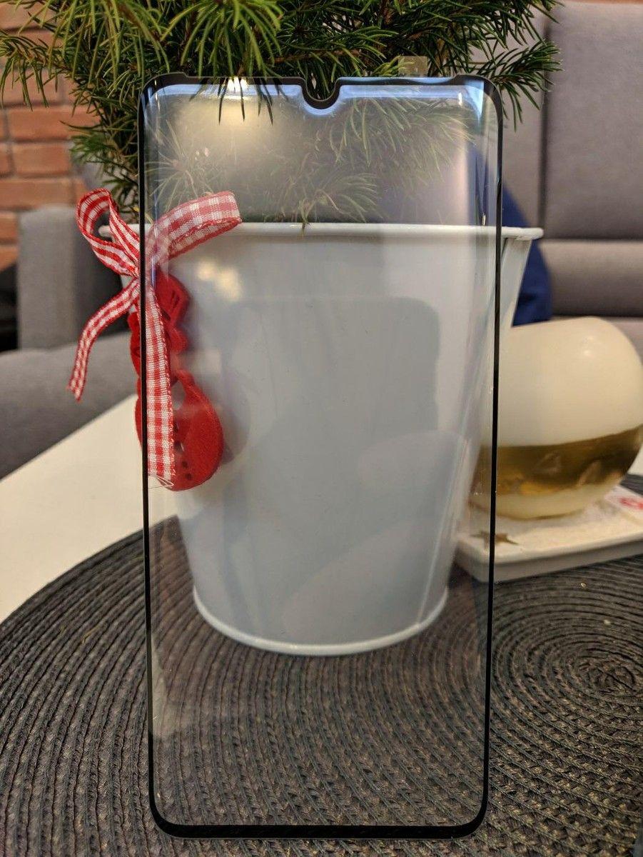 3D Glass Frame Glue Samsung G980 S20 - černé Curved Glass